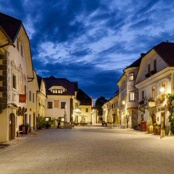 See the attractions of Radovljica on one walk