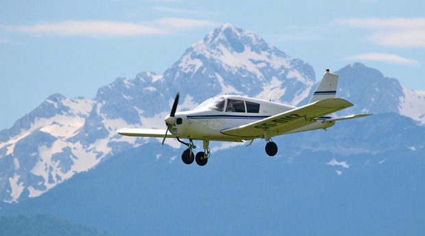 Panoramic flights above the Julian Alps