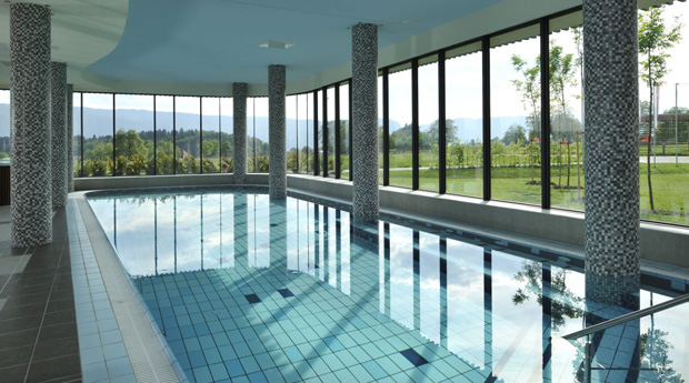 Swimming Pool in Lambergh Chateau and Hotel