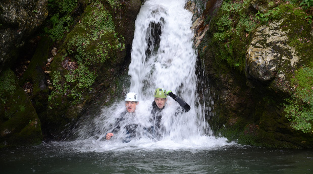 Canyoning in the Julian Alps