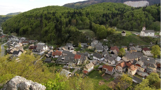 A view of the village from Zijavka