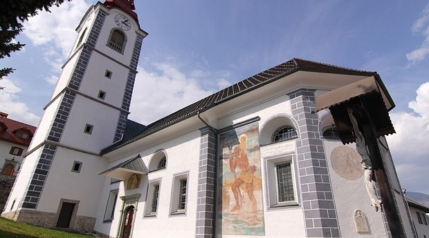 The Church of Mary Help of Christians in Ljubno