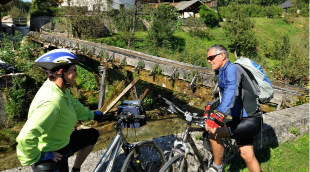 Discovering the countryside by bike