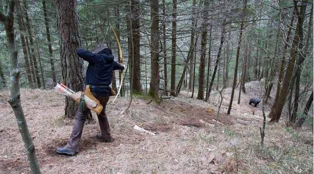 Parkour Archery in the Draga Valley