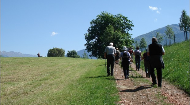 The Rosary Bead Trail (Rožnovenska pot) near the village Hudo
