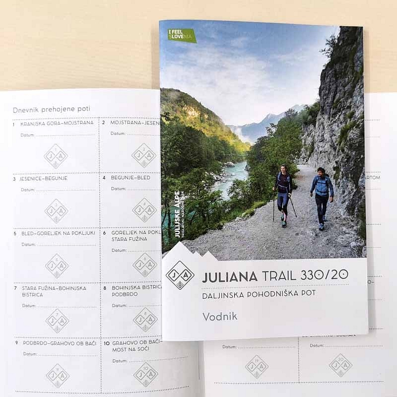 Vodnik Juliana trail 330/20