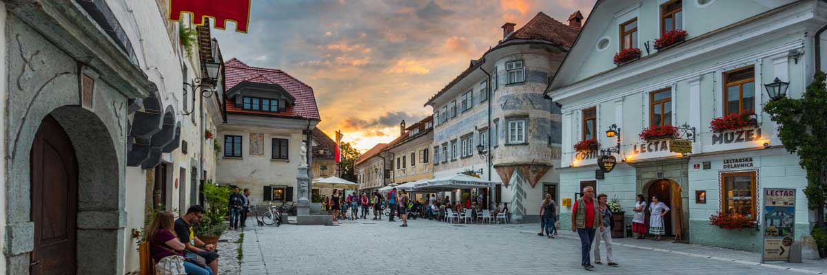 Radovljica, the sweetest town in Slovenia